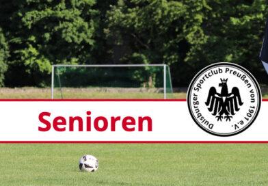 2. Runde im Niederrheinpokal 2021