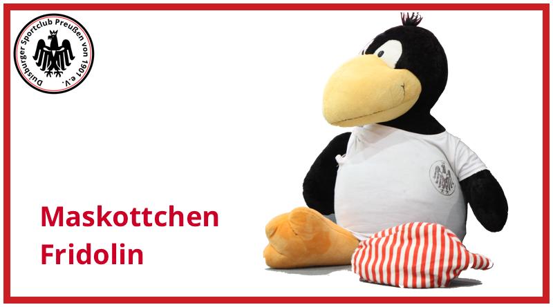 DSCP-Maskottchen-Fridolin