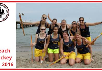 Impressionen der Beach-Hockey DM 2016 – Tag 1