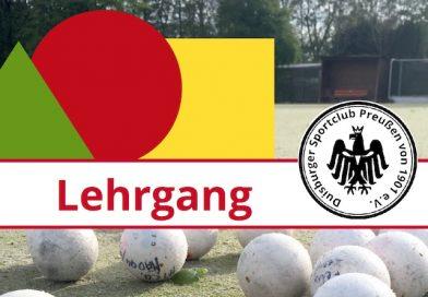 Schiedsrichter-Lehrgang 2019