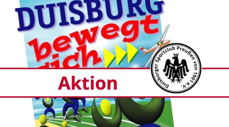 Duisburg bewegt sich – der DSC macht mit
