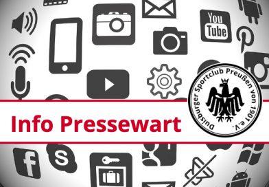 """Pressewarte ziehen für """"2019"""" Bilanz ohne Worte."""